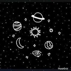 Planets In Black And White Wallpapers) – HD Desktop Wallpapers Star Doodle, Doodle Art, Planet Drawing, Videos Kawaii, Handy Iphone, Space Grunge, My Notebook, Aesthetic Grunge, Moon Art
