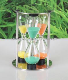 promotional hour glass sand timer/glass hour sand glass/sand clock decoration sand timer promotional kitchen timer $0.5~$2