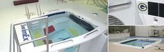 60-T Aquatic Physical Therapy Pool