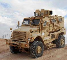 Navistar Defense, MaxxPro, Mine-Resistant Ambush-Protected (MRAP) Vehicle.