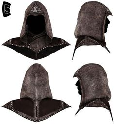 ads ads This is the Hood of the Assassin Aguilar de Nerha. Created with Marvelous Designer, Zbrush and Photoshop. In Progress…. Assassins Creed Outfit, Assassins Creed Costume, Cosplay Outfits, Cosplay Costumes, Cosplay Ideas, Costume Ideas, Assasins Cred, Assassin's Creed Hidden Blade, Persian Warrior