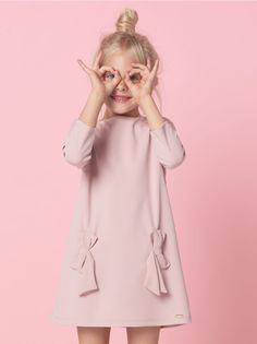 Elegancka sukienka dla dziewczynki LITTLE PRINCESS, MOHITO, SI710-03X