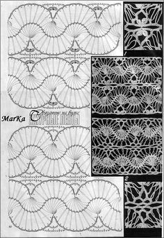 Hairpin lace patterns