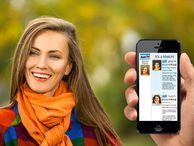 Facial recognition app matches strangers to online profiles See someone on the train you'd like to date? NameTag, an upcoming app for Android, iOS, and Google Glass uses facial recognition technology to match passersby to their social-media and dating info.