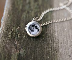 Moon necklace  Moon locket  Personalized necklace  by SecretFind, $28.00