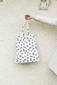 silvart / JEDINÝ KUS - Malé ruže (bavlnená taška) Reusable Tote Bags, Shoulder Bag, Shoulder Bags
