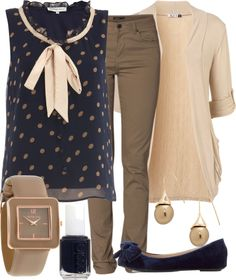 """Teacher Outfits on a Teacher's Budget"" by allij28 on Polyvore"