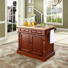 Google Image Result for http://i.zoostores.com/ml/c/r/o/crosley-furniture-butcher-block-top-kitchen-island-in-classic-cherry-finish_d2e1be.jpg