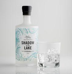 Legend Craft Distillery: Shadow in the Lake Vodka on Behance