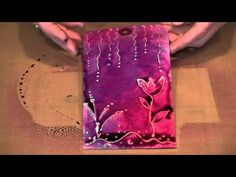 Tutorial on several resist techniques. She talks a bit fast, but the visuals really help. Card Making Techniques, Art Techniques, Shibori, Paper Art, Paper Crafts, Art Journal Tutorial, Mixed Media Tutorials, Collage, Card Tutorials