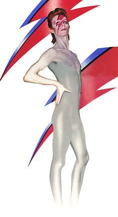 David Bowie by Duffy: Aladdin Sane Full Length (Ziggy Stardust)