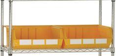 Storage Design Limited - Shelving & Racking - Specialist Shelving & Storage - Chrome Shelving Linbin Kits