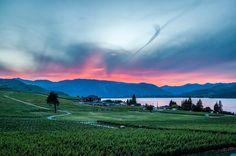 Lake Chelan. Washington.