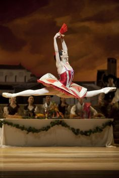Anna Tsygankova in Don Quixote. Photo by Angela Sterling.