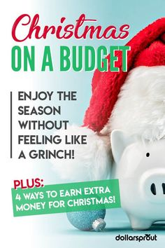 Doing Christmas on a budget can be hard, but it's not impossible. One personal finance expert shares her very best tips for decorating on the cheap, buying gifts. Ways To Save Money, Money Tips, Money Saving Tips, How To Make Money, Christmas On A Budget, Christmas Ideas, Holiday Money, Christmas Gifts, Christmas Inspiration
