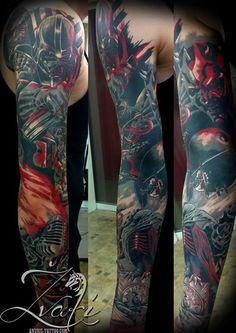 custom / unique / realistic by Zvaki Anubis Tattoo, Starwars, Tattoos, Unique, Fashion, Tattoo, Moda, Tatuajes, Fashion Styles