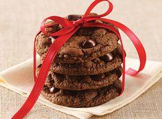 Recipe: Chocolate Chocolate Chip Cookies http://www.afewfriesshort.com/recipe-chocolate-chocolate-chip-cookies/