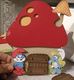 Cute mushroom invitations