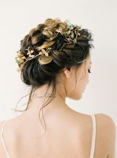 "bride2be: ""  Stylish Wedding Hair - Braided Updo """