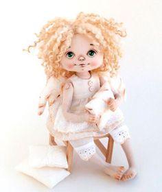 Фестиваль Авторской Куклы и Мишек Тедди, Игрушек Tiny Dolls, Soft Dolls, Doll Eyes, Doll Face, Silicone Baby Dolls, Cute Toys, Doll Crafts, Fabric Dolls, Hello Dolly