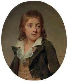 Portrait of a Young Boy, 1792 by Martin Drolling (1752-1817