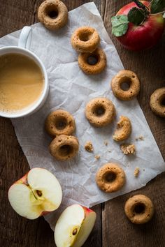 Vegan Chai-Spiced Apple Cider Doughnuts