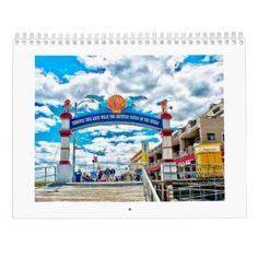 Wildwood New Jersey Photo Calendar - photo gifts cyo photos personalize