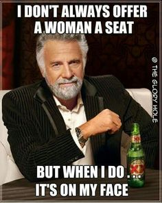 what a gentleman..hahaha!