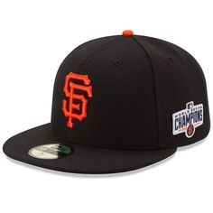 San Francisco Giants Authentic Collection 59FIFTY Game Cap with 2014 World Series Champions Patch
