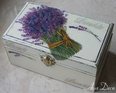 Decoupage Box - Great gift idea!