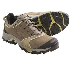 La Sportiva FC ECO 2.0 GTX Trail Shoes - Gore-Tex®, Nubuck (For Women) in Brown/Mint