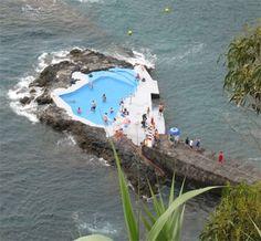 azores sea-pool. so beautiful here!!