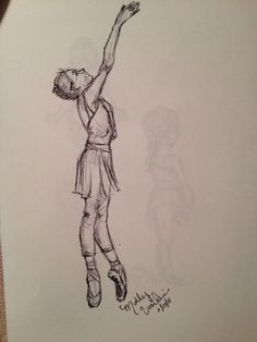 Dancer sketch. MGV