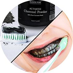 Majestic Pure Activated Charcoal Powder for DIY Recipes for sale online Activated Charcoal Teeth Whitening, Teeth Whitening System, Natural Teeth Whitening, Facial Scrubs, Facial Masks, Homemade Eyeliner, Natural Charcoal, Aktiv, Mascara