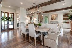 62 trendy home design plans southern living dining rooms Southern Living Homes, Southern House Plans, Country Farmhouse Decor, Primitive Country, Modern Farmhouse, Country Style Homes, Trendy Home, Home Design Plans, Home Decor Styles