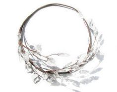 Hoja corona diadema de hojas cabeza rústica corona por curtainroad