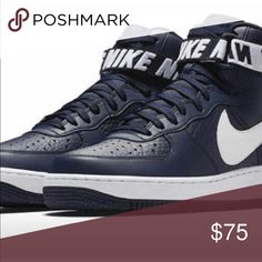 57aff219960 Air Force 1s Hi NBA College Navy Blue White College Navy Blue White Never