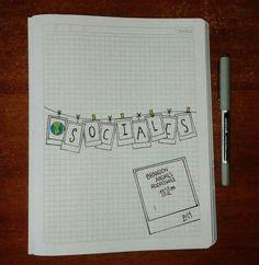 Bullet Journal Banner, Bullet Journal School, Bullet Journal Ideas Pages, Bullet Journal Inspiration, Notebook Art, Notebook Covers, Pretty Notes, Good Notes, School Notebooks