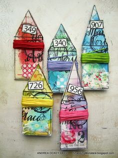 Very cute idea!  Storage for embroidery floss -- Simon Says Stamp -- sss-stamp-punch
