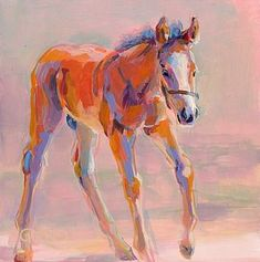 "Daily Paintworks - ""Hugo"" - Original Fine Art for Sale - © Kimberly Santini Animal Paintings, Paintings For Sale, Horse Paintings, Painting Inspiration, Art Inspo, Baby Horses, Horse Drawings, True Art, Equine Art"