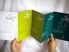 Accordion fold booklet