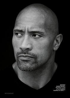 Dwayne 'The Rock' Johnson Essence August 2013