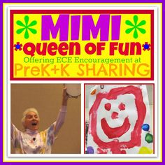 Mimi Brodsky Chenfeld, Queen of Fun Offers Encouragement at PreK + K Sharing