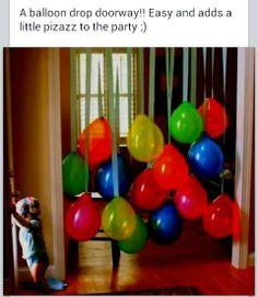 Cute balloon idea