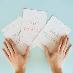 Picking the perfect wedding invitation can be tricky, but at least you've got… Letterpress Wedding Invitations, Baby Shower Invitations, Birthday Invitations, Cascade Design, Engagement Invitations, Typographic Design, Dots Design, Event Design, Invitation Cards