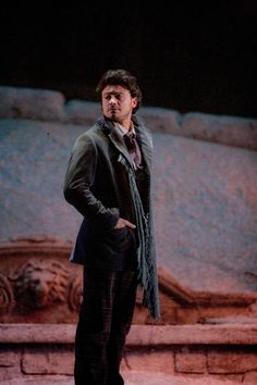 La Boheme - Vittorio Grigolo as Rodolfo, photo by Marty Sohl