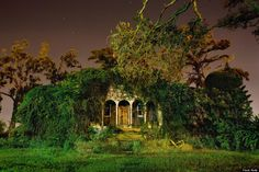 "Spooky, creepy, cool images of NOLA at nighttime. New Orleans ""Nightscapes"" by local photographer Frank Relle"
