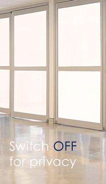 Switchable Privacy Glass - Smart Glass - LED Glass - LED Glass & Films