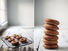 cinnamon roll almond flour donuts | roost