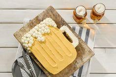 Bierglas-Torte - Rezept von Backen.de Dory, Bread, Cheese, Baking, Muffins, Pastries, Buttercream Recipe, Best Birthday Cakes, Muffin